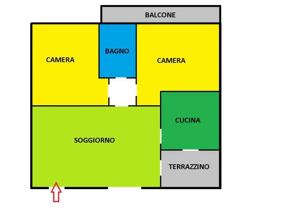 Appartamento in vendita a Inzago, 3 locali, prezzo € 175.000 | CambioCasa.it