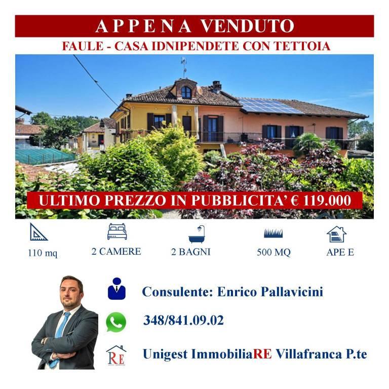 Rustico / Casale in vendita a Faule, 5 locali, prezzo € 119.000   PortaleAgenzieImmobiliari.it