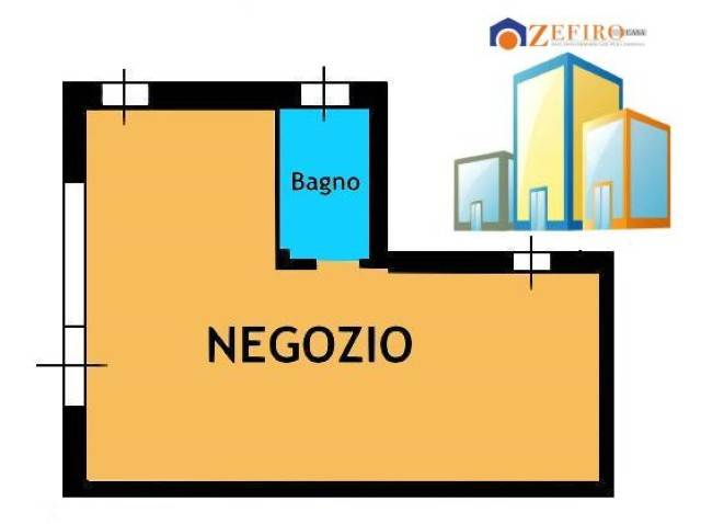 Negozio-locale in Vendita a Sala Bolognese Centro: 1 locali, 51 mq