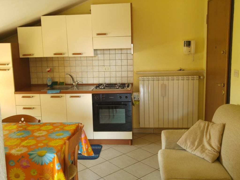 Attico / Mansarda in affitto a Cervasca, 2 locali, prezzo € 350 | CambioCasa.it
