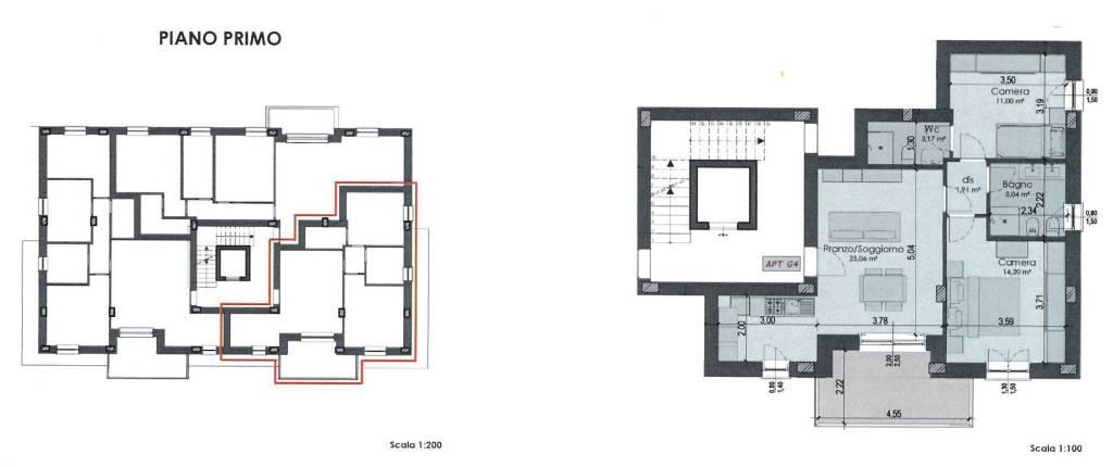 Appartamento in Vendita a Formigine: 2 locali, 83 mq