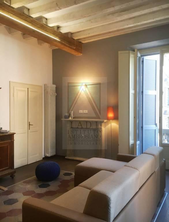 Appartamento in Affitto a Milano 07 Darsena /  Ticinese: 3 locali, 85 mq