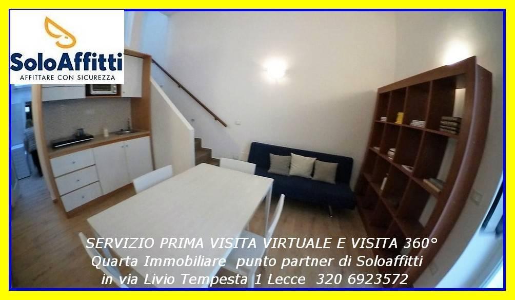 Attico in Affitto a Lecce Centro: 2 locali, 69 mq