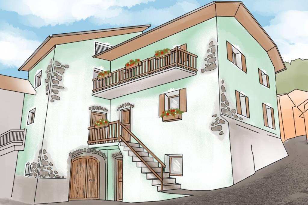 Rustico / Casale da ristrutturare in vendita Rif. 7402265