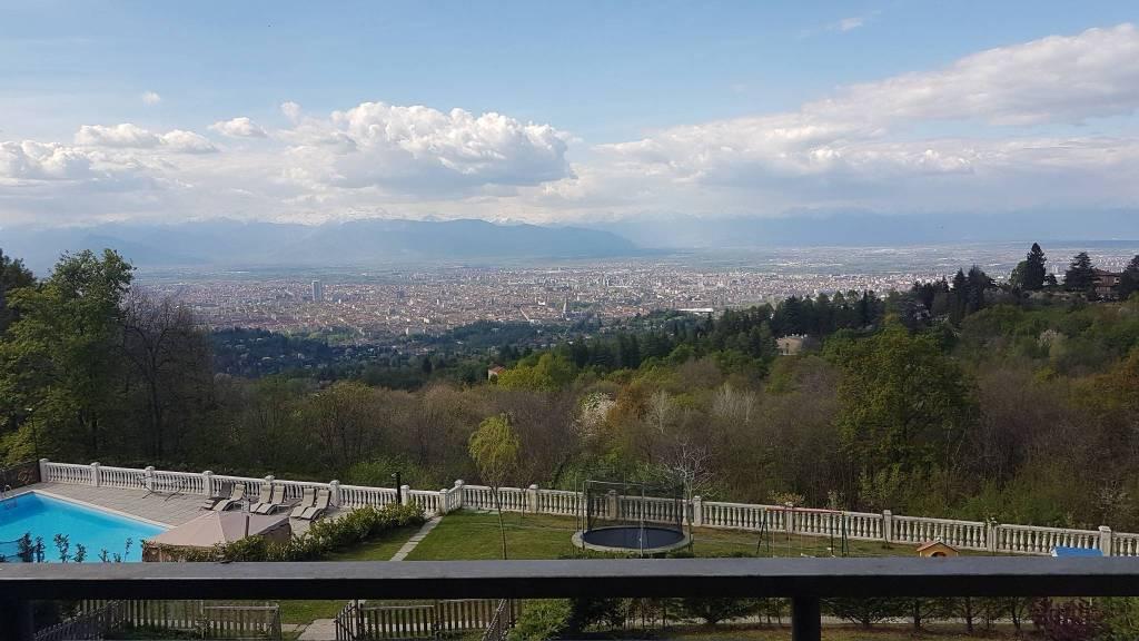 Villa a Schiera in affitto a Pecetto Torinese, 8 locali, prezzo € 2.000 | PortaleAgenzieImmobiliari.it