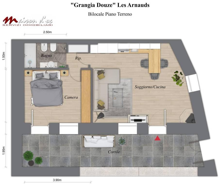 Appartamento in vendita a Bardonecchia, 2 locali, prezzo € 178.000 | PortaleAgenzieImmobiliari.it