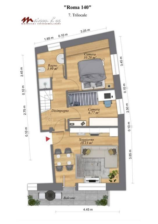 Attico / Mansarda in vendita a Salbertrand, 4 locali, prezzo € 149.000 | PortaleAgenzieImmobiliari.it