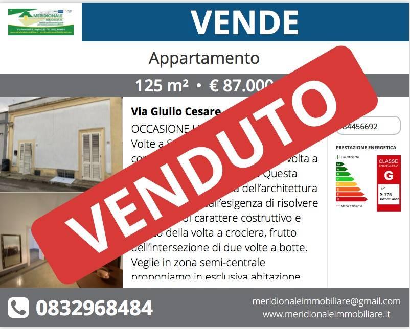 Appartamento in vendita a Veglie, 5 locali, prezzo € 87.000 | PortaleAgenzieImmobiliari.it