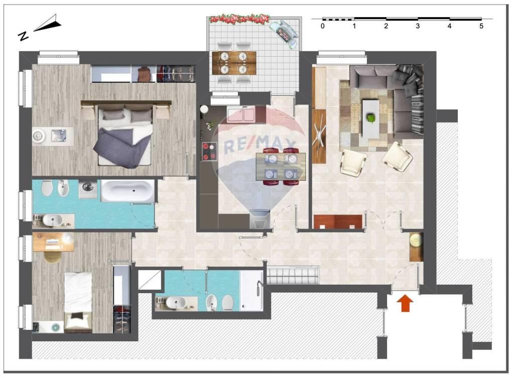 Appartamento in Vendita a San Lazzaro Di Savena Periferia: 4 locali, 112 mq