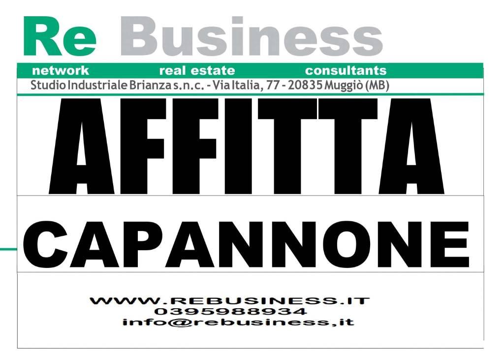 Capannone in affitto a Paderno Dugnano, 1 locali, prezzo € 130.000 | CambioCasa.it